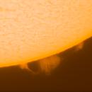 Solar prominence 10.06.2021.,                                Sergei Sankov