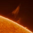 Solar Prominence - 25 May 2020,                                Mark Spruce