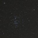 Looking at M44 through an eyepiece,                                Andreas Zeinert