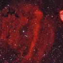 Sh2-232 & Sh2-235 Nebulae (BiColor),                                Marco Stra