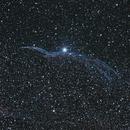 Western Veil Nebula (The Witch's Broom),                                Blackwater Skies