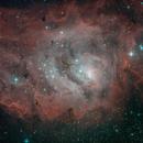 The Lagoon Nebula,                                David