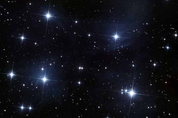M45 - Pleiades (the Seven Sisters),                                Ahmed