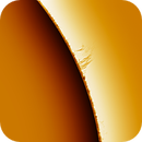 Solar prominence 20201018,                                Sergio Alessandrelli