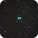 "M76 - The ""Little Dumbbell"" nebula,                                Michael J. Mangieri"