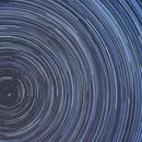 Rotazione polare - Star trails,                                PGU (Giuliano Pin...