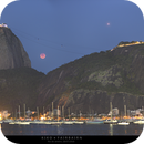 Moon Eclipse from Rio's post card,                                Kiko Fairbairn