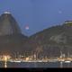 Moon Eclipse from Rio's post card,                                Carlos 'Kiko' Fai...