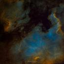 North America Nebula SHO (NGC 7000),                                DarthAstro