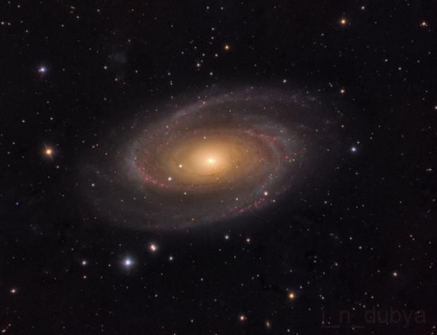 M81 - Bode's Nebula v2,                                Josh Woodward