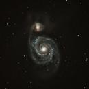 Messier 51 - C8,                                Günther Eder