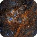 Sh2-115 and Abell 71 (PLN 85+4.1) HST,                                Marco Stra