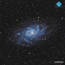 M33 Triangulum Galaxy 2014,                                Francesco di Biase