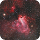 M17 LRGB (from the city),                                Ben
