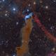 vdB 152 - The Wolf's Lair - HaRGB (OSC),                                vchari252