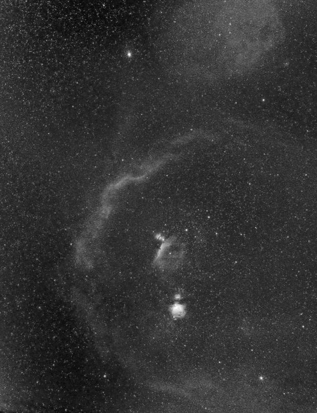 Orion Constellation in H-alpha,                                JDJ