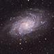 Messier 33 - Triangulum galaxy,                                Joe Beyer