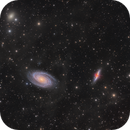 M81 & M82 in the IFN,                                Barry Wilson