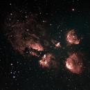 NGC 6334 Pata de Gato 10-04-2021(LIVE),                                Wagner