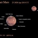 Mars annotated,                                OrionRider