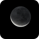 crescent with earthshine,                                Paul