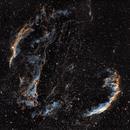 Veil Nebula wide field mosaic in OHS,                                Karol R