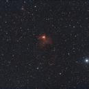 NGC 1491 - Fossil Footprint,                                Wolfgang Zimmermann