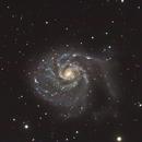 M101 during twilight,                                Thomas