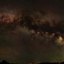 40 Panel Milky Way Mosaic with Intense Airglow,                                David McGarvey