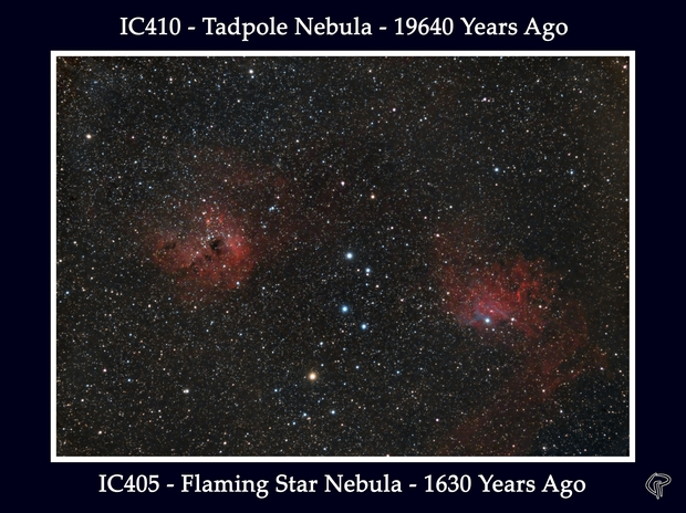 IC405 - IC410,                                Giuseppe Pezza