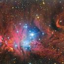 NGC 2264 Cone Nebula and Christmas Tree Cluster,                                Zoltán Bach