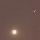 Moon/Jupiter/Venus/Mars Conjunction - July 1991,                                mikefulb