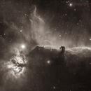 Horsehead Nebula H-alpha,                                HaSeSky