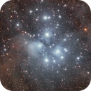 Pleiades (M45),                                Giuseppe Donatiello