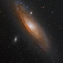 Andromeda Galaxy.,                                Mikel Castander