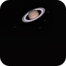Saturn and its moons,                                Massimiliano Vesc...