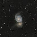 La galaxie du Tourbillon,                                Virginie