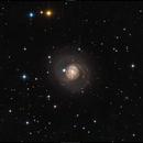 M77 - Barred Spiral Galaxy,                                Dhaval Brahmbhatt