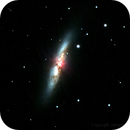 Messier 82,                                Johann Schiffmann
