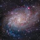 The core of Triangulum Galaxy,                                Evan Tsai