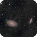 Galactic Cirrus with Bodes Galaxies and companions,                                Stephan Linhart