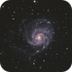 M101  Pinwheel Galaxy,                                TakeThree