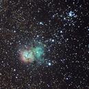 Triffid Nebula (M20),                                roc_ls1864