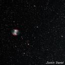 M27 Dumbbell Nebula,                                Justin Daniel