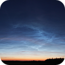 Noctilucent clouds (NLC) - 17.06.2019 display,                                Łukasz Sujka