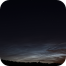 Noctilucent clouds (NLC) 04.07.2021,                                Marco Wischumerski