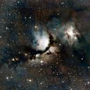 M78 - Casper the Friendly Ghost Nebula,                                Monty Giavelli