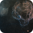 Sh2-240, SNR G180.0-01.7 or Simeis 147, is a supernova remnant (SNR),                                hbastro