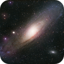 Andromeda Galaxy,                                Muhammad Ali
