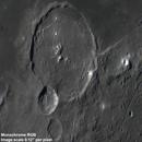 Gassendi crater - monochrome RGB versus OSC comparison,                                Niall MacNeill